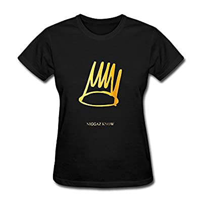 FEDNS Women's Born Sinner Gold J Cole T Shirt