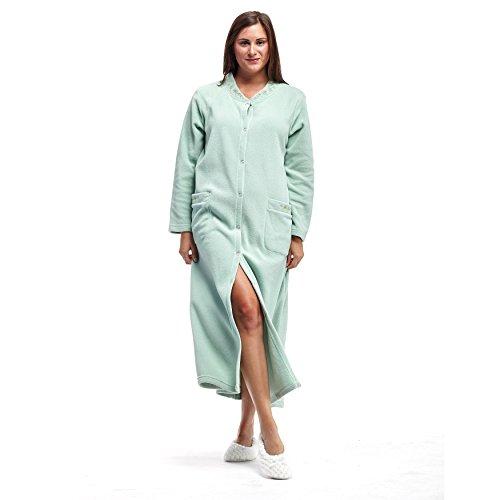 Cheap La Cera Women's Snap Front Robe supplier