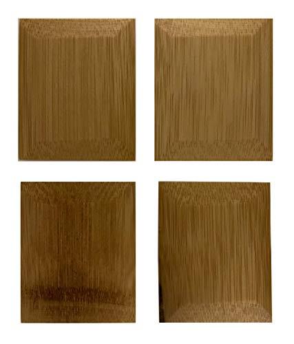 (Bamboo Studio Natural Bamboo Pot Scrapers (Set of 4))