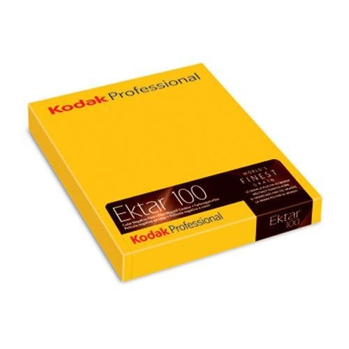 Kodak Ektar 100 Color Negative Sheet Film ISO 100, 8x10'', 10 Sheets, by Kodak