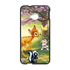 JIANADA Cartoon Cute Black HTC M7 case