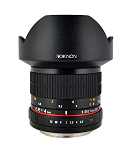 Rokinon FE14M-S 14mm F2.8 Ultra Wide Fixed Lens for Sony Alpha A Mount (Black)