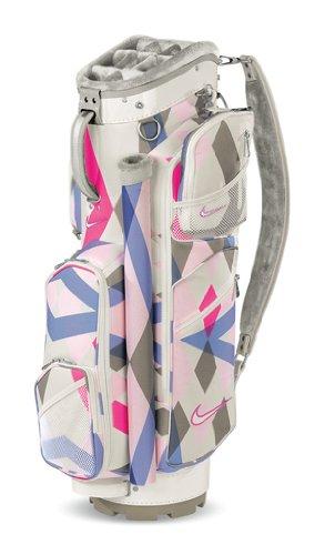 Nike Golf Womens Brassie Cart II Golf Bag (Swan)