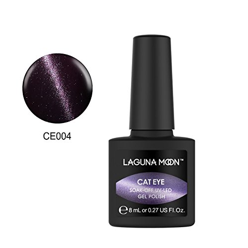 Lagunamoon Gel nail Polish 3D Cat Eye UV LED Nail Polish Mag