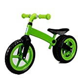 BLLL Balance Bike No Foot Pedal Riding Toys Suitable For Boys And Girls Aged 2-6 Scooter Baby Walke,Green
