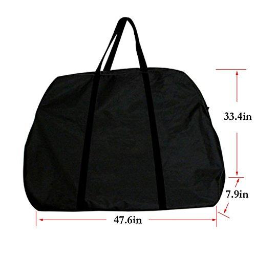 Bolsa suave de transporte para bicicleta Yahill®, negro: Amazon.es: Deportes y aire libre