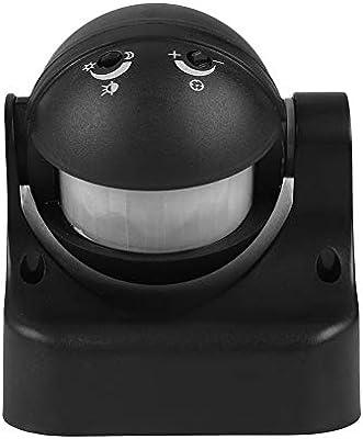 Vbestlife Interruptor con Sensor de Movimiento 180 Grados Interruptor del Sensor Infrarrojo Timer IP44,Distancia de Inducción de 15 Metros Utilizado en escaleras, Pasillos y Baños Públicos: Amazon.es: Electrónica