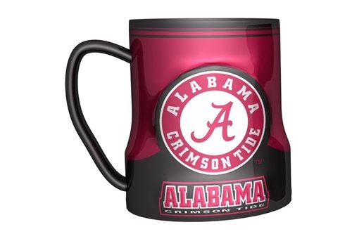 Hall of Fame Memorabilia Alabama Crimson Tide Coffee Mug 18oz Game Time