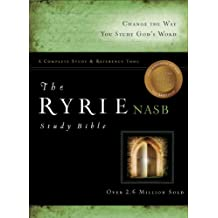 Ryrie NAS Study Bible Bonded Leather Black Rl