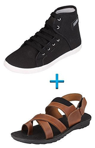 Tempo Combo Pack of Shoes & Sandals