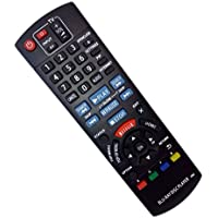 Replaced Remote Control Compatible for Panasonic DMPBDT225 DMP-BD89 DMPBD91 DMP-BD901 DMPBD79 Blu-Ray DVD Disc Player
