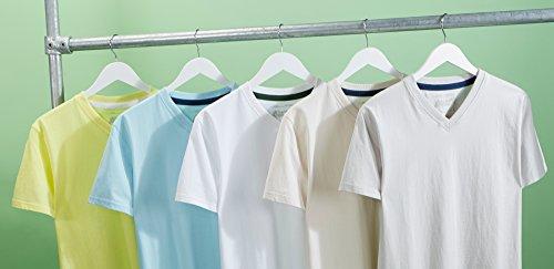 V Light À shirts Wilson Essentials Unis T Col Charles Pack 5 De wvz0nx4qFU