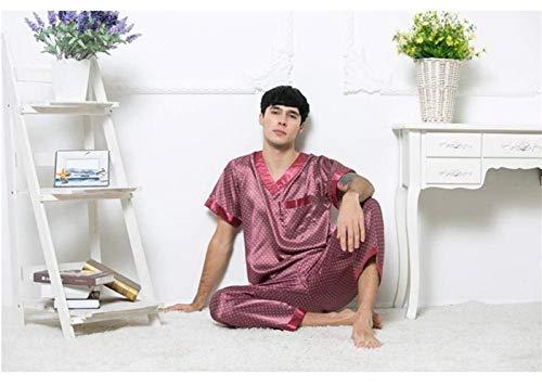 Hombres Home Los Albornoz 100 Fashion Sauna Saoye Ropa Baño De Pijamas Lujo Largo Verano fwIxt7gnqR