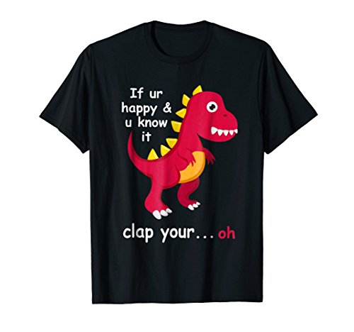 Funny Dinosaur T-Rex Shirt for Adults and Kids ()