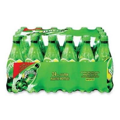 Perrier Sparkling Mineral Water - 16.9 Oz (Pack of 24)