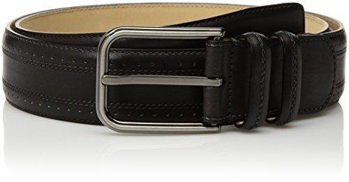 Mezlan Men's Belts Men's Taberna Naxos Belt, graphite, 34 (Mezlan Black Belt)
