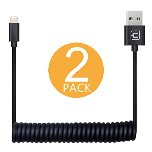 iphone 5 cable coiled - 3