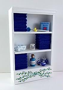 Mueble de ba o miniatura casa de mu ecas unidad for Amazon muebles de bano