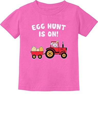 Easter Egg Hunt Gift for Tractor Loving Kids Toddler/Infant Kids T-Shirt 5/6 -