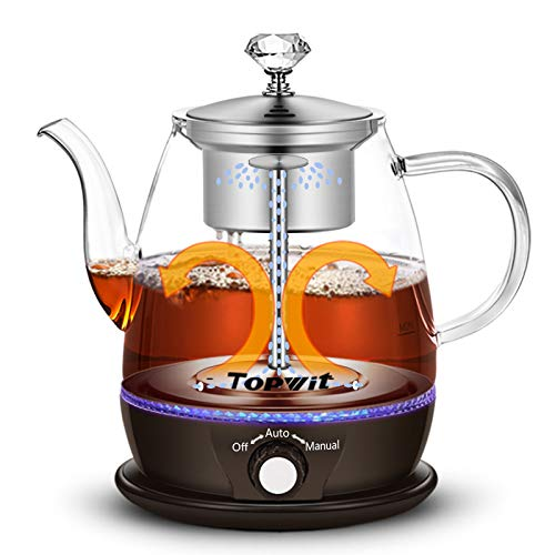 Topwit Electric Kettle, Electric Tea Kettle with New Tea-brewing Method, Keep Warm and Dual Boiling Modes Electric Tea…