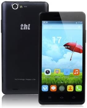 PhoneWiz ThL 5000 Ultraphone 5-inch MTK6592T 2.0GHz Octa-core Smartphone {Color-Black} : Amazon.es: Electrónica
