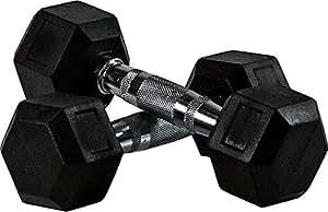 Skyland Neo Hex Dumbell Set, 4Kg x 2 - Black, Em-9260-4