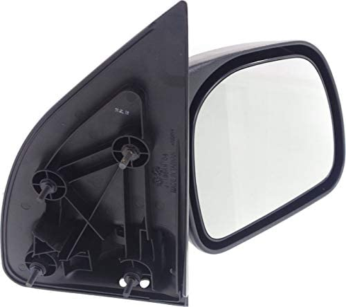 Manual Mirror For 99-2010 Ford Super Duty Pickups Left Manual Fold Towing