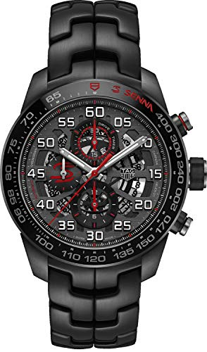 TAG Heuer Carrera Calibre HEUER 01 Senna Special Edition Mens Watch CAR2A1L.BA0688