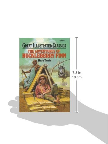 a description of jim and hucks journey down the river in the novel adventures of huckleberry finn by Adventures of huckleberry finn: adventures of huckleberry finn is a novel by down the mississippi river on a raft during the journey huck encounters a.