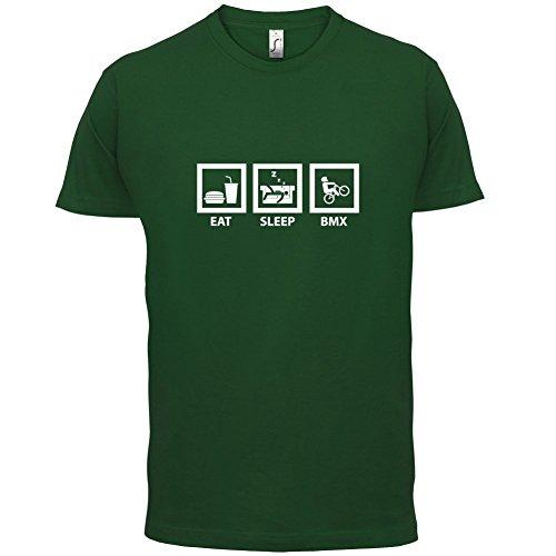 Eat Sleep BMX - Herren T-Shirt - Flaschengrün - XXL
