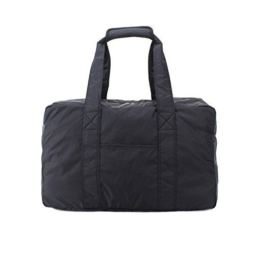 Bolsos Tote Casual Multi Bolsillo Nylon Impermeable Para Trabajo Deportivo Viajes Escolares Diseño Exclusivo Con Ranuras Para Tarjetas Black