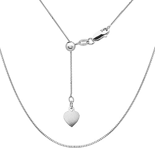 Sterling Silver Italian Adjustable Chain