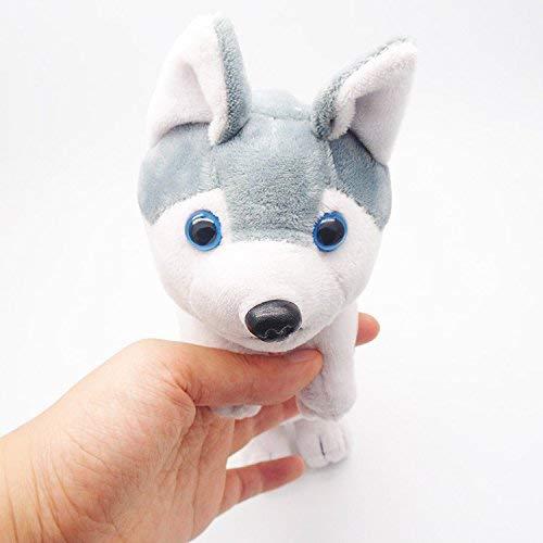 OngHaiY Home Juguete para niños pequeños Simulación de Peluche Estéreo Cachorro Lápiz de Gran Capacidad Papelería...