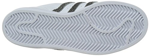 adidas Superstar W, Zapatillas de Running, Mujer Multicolor (Blanco / Negro)