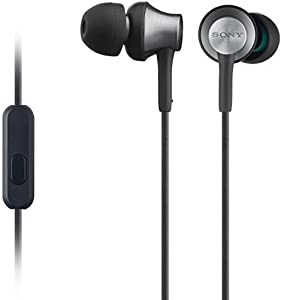 Sony MDR-EX650APB Ecouteurs Intra-auriculaires avec Microphone – Noir