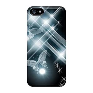 Awesome Design New Blue Radiance Hard Cases Covers For Iphone 5/5s