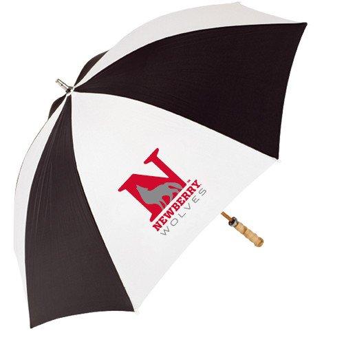 Newberry 62 Inch Black/White Umbrella 'Official Logo' by CollegeFanGear