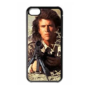 Lethal Weapon iPhone 5c Cell Phone Case Black Fztp