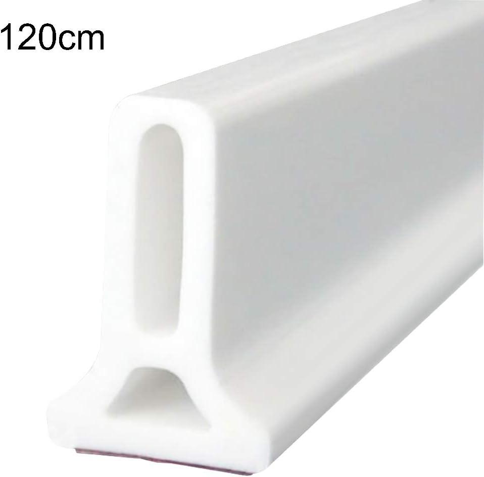 Kinnart - Tira de ducha de silicona, 50 – 120 cm, adhesivo de goma para ducha, barrera de agua, caucho, 120 cm: Amazon.es: Hogar