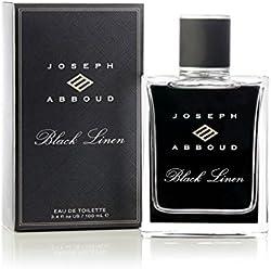 Joseph Abboud Black Linen Eau de Toilette - Cologne Fragrance Spray for Men - With an