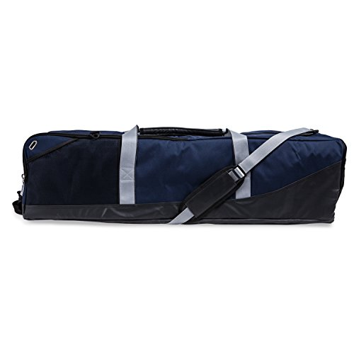 Champion Sports Lacrosse Equipment Bag: Duffel Sports Bag for Mens & Womens, Girls & Boys Gear - Navy