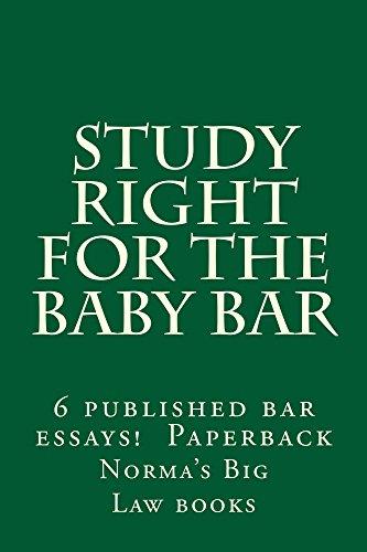 Baby Bar Study Book: Duru Law books
