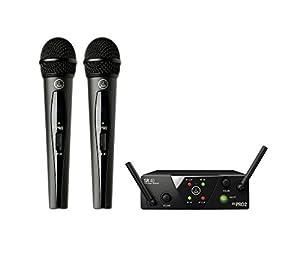 AKG WMS 40 Mini2 Vocal Wireless Microphone Set, by AKG