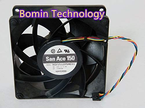 Bomin Technology for SANYO 9GV1512P5M031 12V 1.2A 4-Wire 15CM Cooling Fan