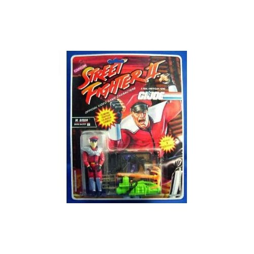 GI Joe Street Fighter II 3.75 inch M Bison - Grand Master Action Figure ()