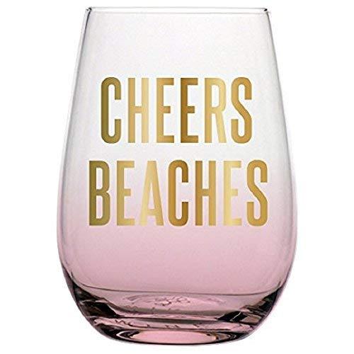 (20oz Stemless Wine Glass - Cheers)