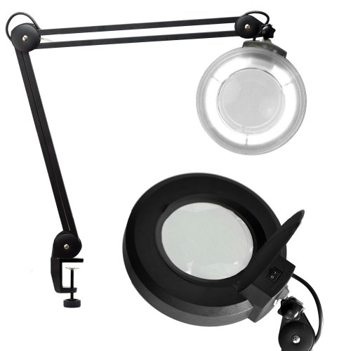 Clamp Magnifying Adjustable Beauty Black product image