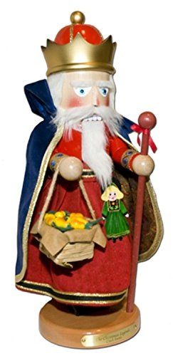 (Retired Steinbach 16th in Christmas Legends Series Czech Santa Musical Nutcracker)