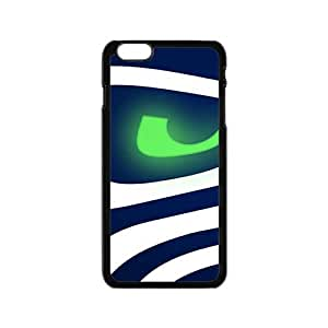 Seattle Seahawks Logo Fashion Comstom Plastic case cover For Iphone 6