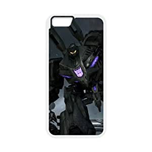 iPhone 6 Plus 5.5 Inch Cell Phone Case White Transformers NMI Cell Phone Case For Girls